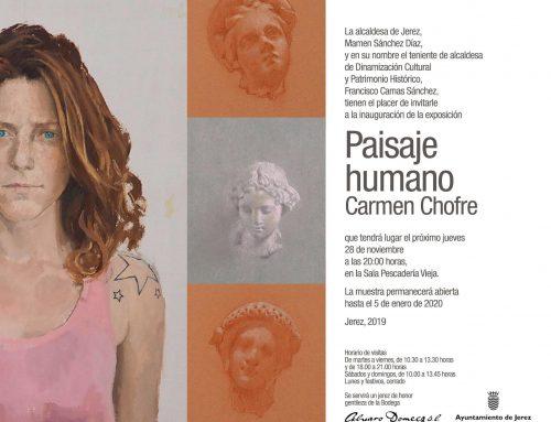 """Carmen Chofre inaugura """"Paisaje Humano"""" en la Sala Pescadería Vieja"""