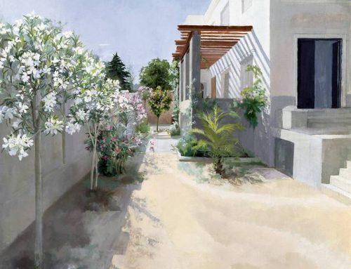 Nos ha dejado la extraordinaria pintora María Moreno